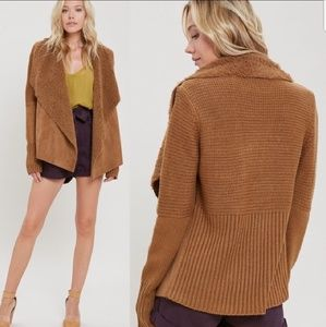 Camel Colored Cardigan